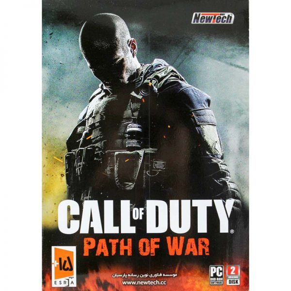 بازی کال آف دیوتی | Call of Duty Path Of War PC 2DVD